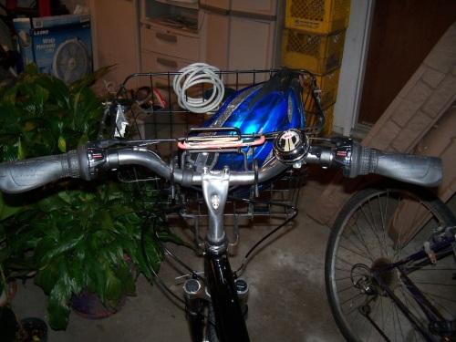 Handles of new bike